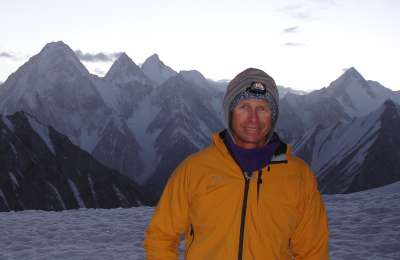 Mike Roberts Gasherbrum II 2006