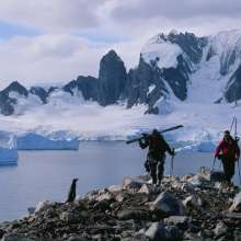 guy cotter in Antarctica