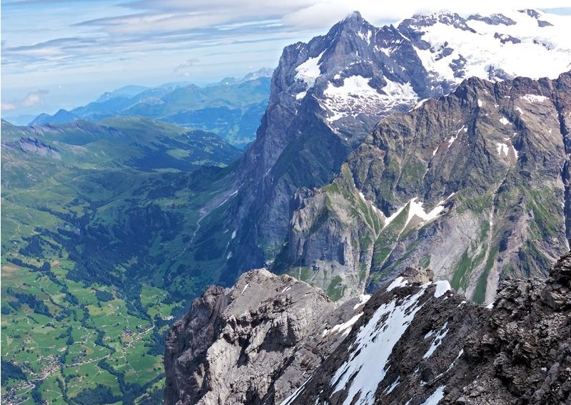 The eiger guided ascent adventure consultants valley from the eiger paul palanca reheart Images