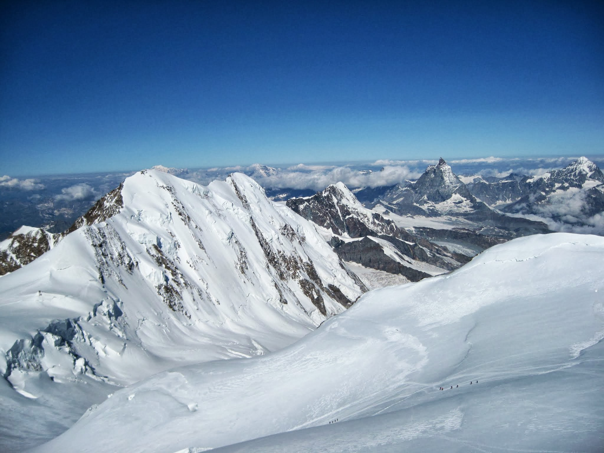 Monte rosa course and ascent adventure consultants for Montre rosra