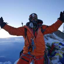 Dhaulagiri Summit Guy Cotter