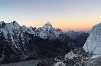 2 11 Morning view to Ama Dablam