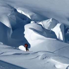 Guided Backcountry Skiing Photo James Hamilton