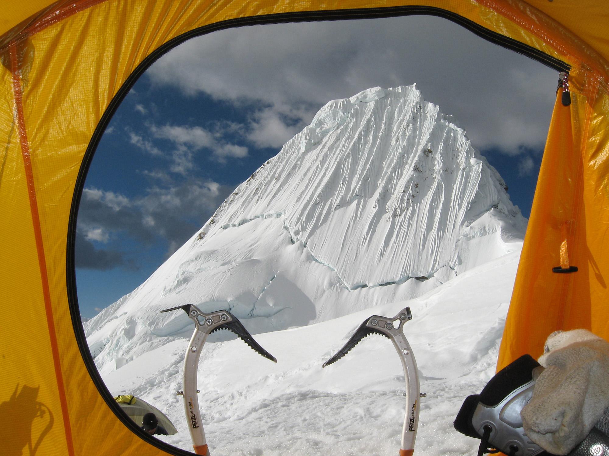 Alpamayo Summit