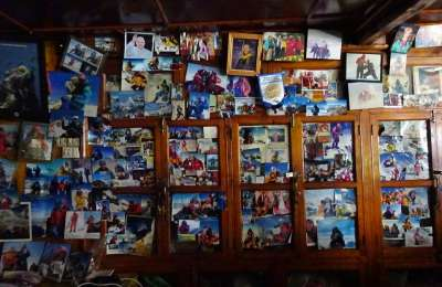 Lama Geshe photo wall Suze Kelly